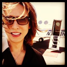 I flew to #Napa Valley to make a new #Yoshiki #Wine today! It... on Twitpic
