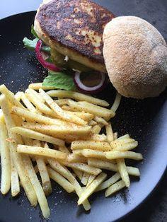 Krea10vmamma:+Fiskeburger+med+pommes+strips