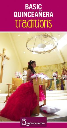 tradición de la quinceañera  To embrace your roots, there are certain quinceanera traditions you can choose to adapt into your celebration to make it unique and memorable! Download our app now: https://itunes.apple.com/us/app/quinceanera.com/id1084512701?mt=8