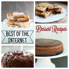 Best dessert recipes on the internet!