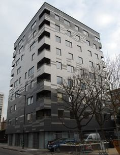 Stadthaus   Hackney   Graphite Apartments in London l Building With Engineered Timber l SkyscraperCity