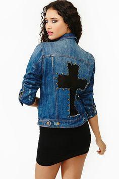 Like A Prayer Denim Jacket