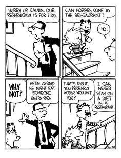 Calvin And Hobbes, Letting Go, Let It Be, Lets Go, Move Forward