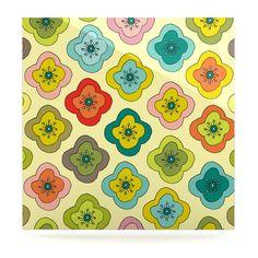 68 X 88 KESS InHouse Nicole Ketchum Forest Bloom Twin Comforter