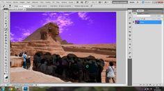 Como quitar una imagen o cosa de una Fotografía con Photoshop