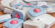 Do You Use Dishwasher Tablets Only for The Dishwasher? Dishwasher Tabs, How To Use Dishwasher, Diy Cleaning Products, Cleaning Hacks, Lifehacks, Glass Garden Flowers, Household Chores, Housekeeping, Vanilla Cake