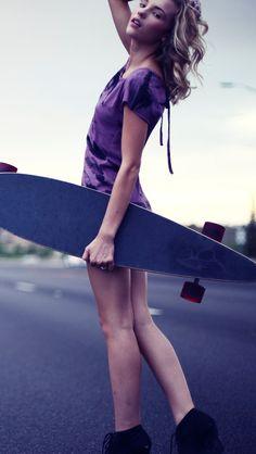 longboard Girl -