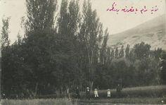 Konya Meram bağında bir manzara