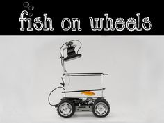 Fish on Wheels is an aquarium on wheels that enables fish to drive wherever they want to go. Finally some freedom for our aquatic pets that have so far been limited to their fish tanks!
