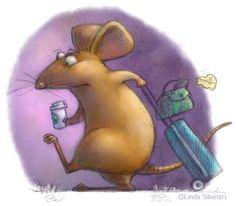 mouse journey by Linda Silvestri