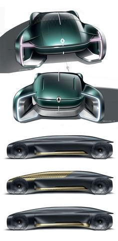 Renault Ez-ultimo Concept: Design Sketches photo ideas from Amazing Cars Photo Car Design Sketch, Car Sketch, Car Interior Sketch, Design Autos, Futuristic Cars, Motorcycle Design, Transportation Design, Automotive Design, Car Photos