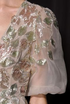 Valentino S/S 2013 Couture Runway Details