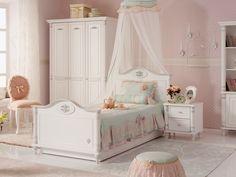 ΠΑΙΔΙΚΑ ΔΩΜΑΤΙΑ ΓΙΑ ΚΟΡΙΤΣΙΑ->ΠΑΙΔΙΚΟ ΔΩΜΑΤΙΟ ROMANTIC->παιδικο κρεβατι - www.cilek.gr