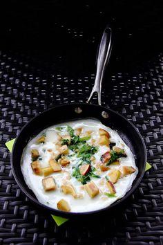 6th October 2013: Apple and macadamis egg white omelette