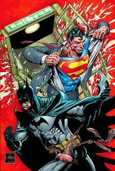 SUPERMAN/BATMAN #50 by Ethan Van Sciver