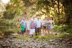 Outdoor family photography , Cairns family portraits