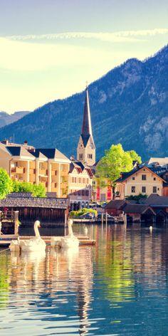 10 Most Beautiful Villages in Europe – Travel Secrets club Beautiful Park, Beautiful Sites, Beautiful Beaches, Hallstatt, Asia City, Mega Fashion, Places In England, Alpine Village, Austria
