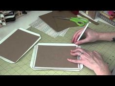 5x7 Envelope Mini Album - Part 1 - Covers - YouTube