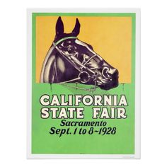 1928 California State Fair Posters from Zazzle.com