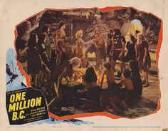 Lobby Card from the film One Million BC