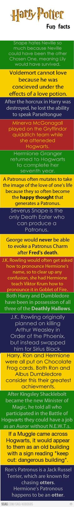 I can never get enough of these fun HP facts..its a syndrome haha