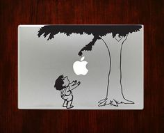 A decal that will transform your Macbook into The Giving Tree. | 27 Gifts Every Book Lover Should Ask For This Year
