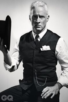 unfuckwittable | dapperdean: John Slattery (Roger Sterling in Mad...