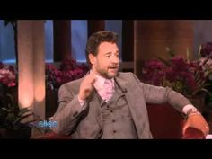 Russell Crowe visits with Ellen - YouTube