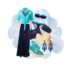 Fashion Trend - Palazzo Pants #azul