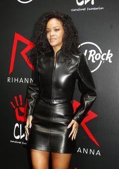 celebstills: Rihanna at Hard Rock Cafe in Paris