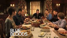 """Most beautiful in Blue Bloods is this shot,I'll keep watching this series always wonderful Blue Bloods Tv Show, Tom Selleck, Watch Full Episodes, Great Tv Shows, Family Values, Characters, Property Brothers, Dinner, Myrtle"