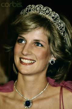 This is definitely my favorite.. tiara, necklace, and earrings every. Not to mention my favorite picture of Princess Diana. She was just lovely.