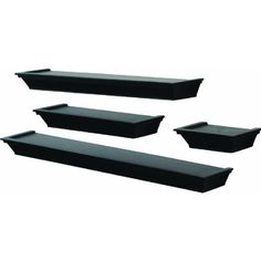 Floating shelves like these for our living room, couldn't find a picture of how I plan to arrange them