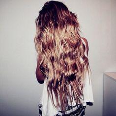 #hair #long #blonde