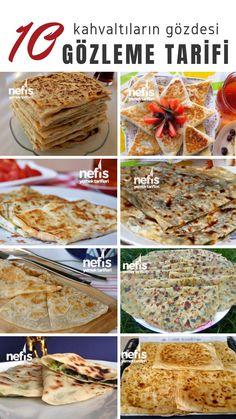 The 10 easiest pancake recipes to prepare - delicious recipes Turkish Mezze, Turkish Sweets, Best Dinner Recipes, Great Recipes, Breakfast Recipes, Delicious Recipes, Turkish Recipes, Italian Recipes, Best Pancake Recipe
