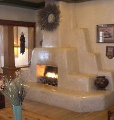 1000 images about fireplaces kivas on pinterest for Southwestern fireplaces