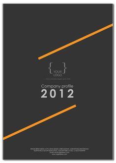 COMPANY PROFILE cover design templates by simisani Kgongwana, via Behance