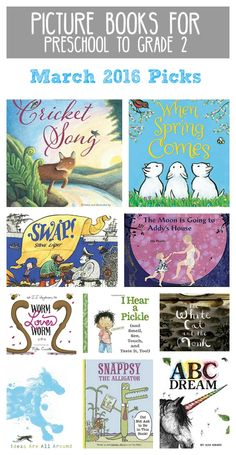 16 Best Best Picture Books For Preschool To Grade 2 Images On