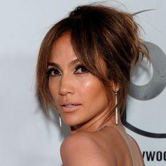 Jennifer Lopez Mit Pony Frisur Beliebte Jugendhaarschnitte 2019