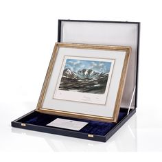 Lochnagar Limited Edition Lithograph - available at Highgrove Shop