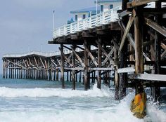 Pacific Beach, Crystal Pier  Photo by Amber Jo Ortlinghaus