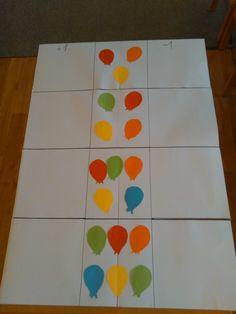 Fašiangový pracovný list - farby, počítanie.