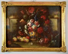 Nature morte avec vase de fleurs - F. Lavagna 1684-1724