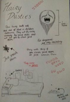 I am making my own journal with my own monsters :), hope you like it :D