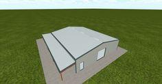 Cool 3D #marketing http://ift.tt/2vhOnZx #barn #workshop #greenhouse #garage #roofing #DIY