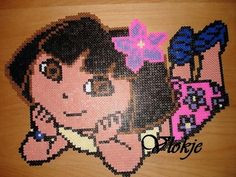 Dora Bügelperlen perler beads