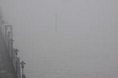Thick fog still at 13.00 on Wednesday 28th December, no river traffic......
