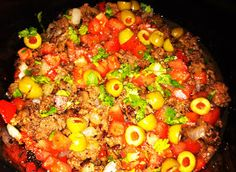 The Daily Dish: Picadillo in the Crock Pot