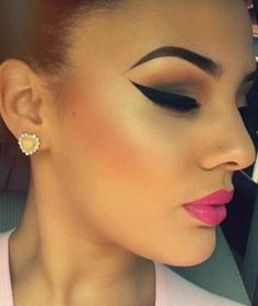 Make up on point!