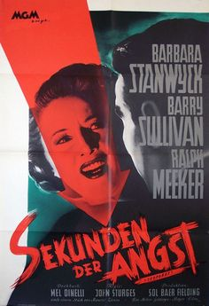 Movie Poster of the Week: The Posters of Barbara Stanwyck on Notebook   MUBI